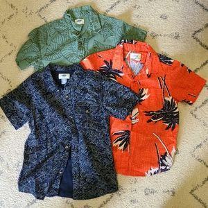 Old Navy Boys 5T Tropical Shirt